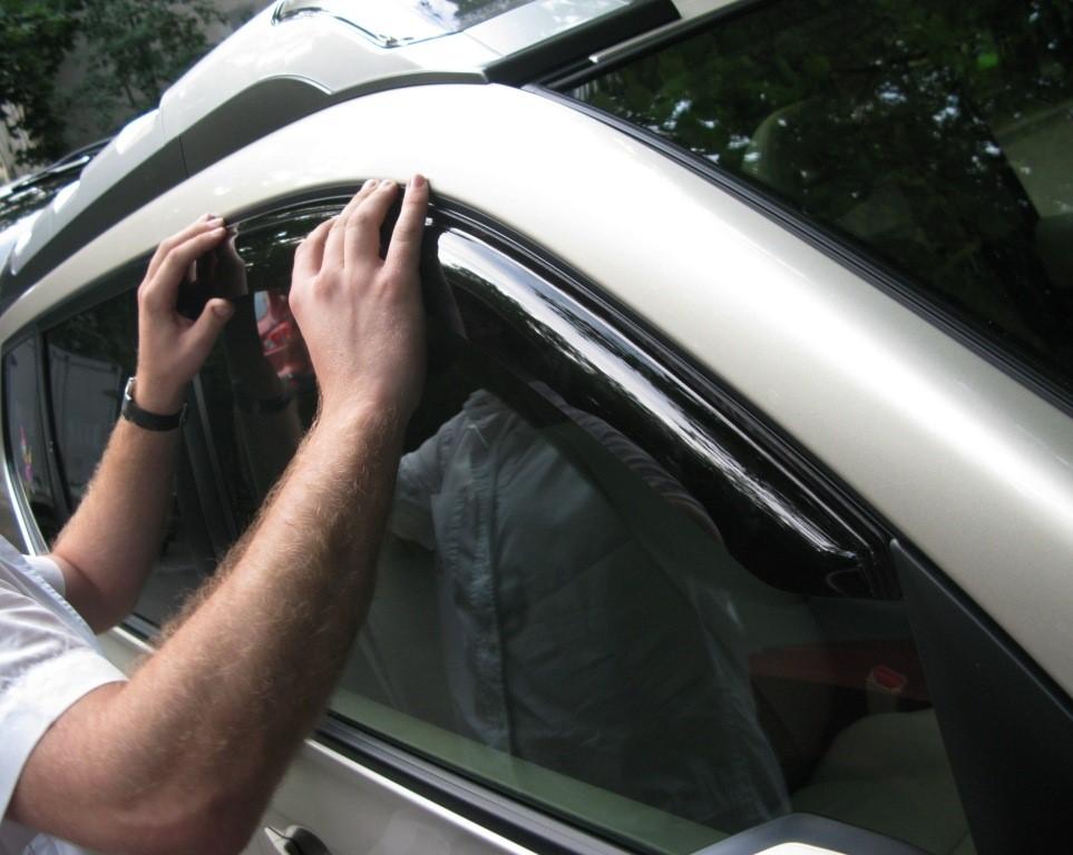Дефлекторы авто своими руками