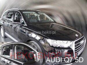 Дефлекторы боковых окон HEKO для AUDI Q7 2015-