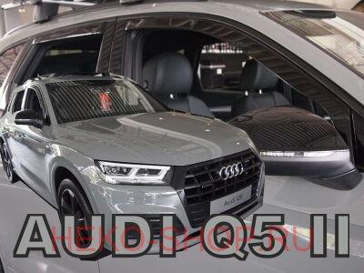 Дефлекторы боковых окон HEKO для AUDI Q5 2017-