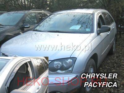 Дефлекторы боковых окон HEKO для CHRYSLER PACIFICA 2004- передние двери