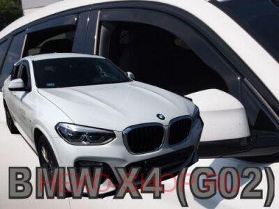 Дефлекторы боковых окон HEKO для BMW X4 (G02) 2018-