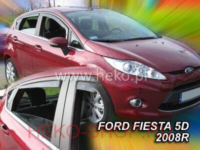 Дефлекторы боковых окон HEKO для FORD FIESTA 2009-