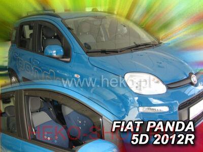 Дефлекторы боковых окон HEKO для FIAT PANDA 2012- 5D передние двери