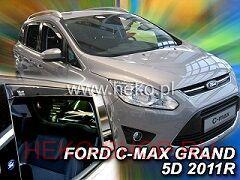 Дефлекторы боковых окон HEKO для FORD GRAND C-МАХ II 2010-