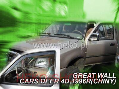 Дефлекторы боковых окон HEKO для GREAT WALL DEER G3\G5 2005- передние двери