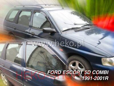 Дефлекторы боковых окон HEKO для FORD ESCORT 1990 – 2001 COMBI
