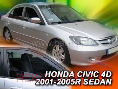 Дефлекторы боковых окон HEKO для HONDA CIVIC 2001-2006 SD передние двери