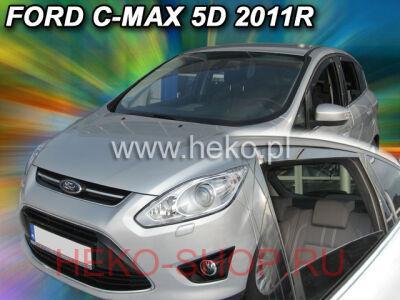 Дефлекторы боковых окон HEKO для FORD C-MAX 2010-