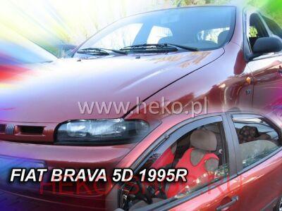 Дефлекторы боковых окон HEKO для FIAT BRAVA 1995-\MAREA 1996-