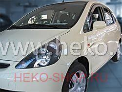 Дефлекторы боковых окон HEKO для HONDA JAZZ\FIT 2001-2008