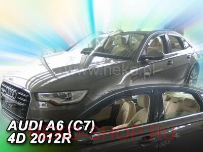Дефлекторы боковых окон HEKO для AUDI A6 (4F,C7) 2011-2018 SD