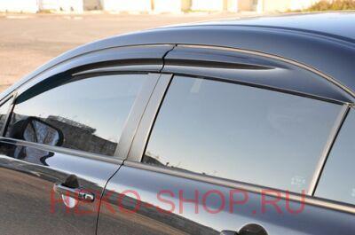 Дефлекторы боковых окон ALVI-STYLE для HONDA CIVIC 2012- SD оригинальные стиль MUGEN
