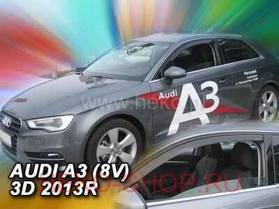 Дефлекторы боковых окон HEKO для AUDI A3 3D 2013-