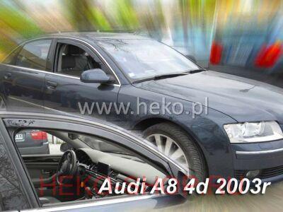 Дефлекторы боковых окон HEKO для AUDI A8 (D3, 4E) 2002-2009 SD