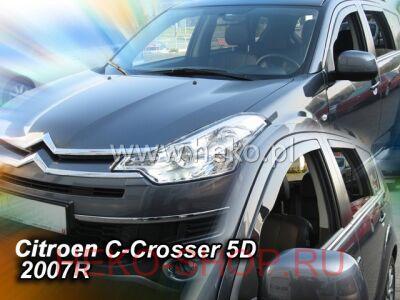 Дефлекторы боковых окон Team HEKO для CITROEN C-CROSSER 2007-\PEUGEOT 4007 2008-