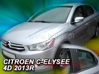 Дефлекторы боковых окон HEKO для CITROEN C-ELYSEE 2013- SD