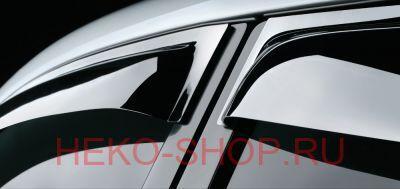 Дефлекторы боковых окон COBRA для CHEVROLET AVEO I 2006-2011 SD