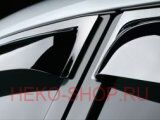 Дефлекторы боковых окон COBRA для AUDI Q5 2008-2017