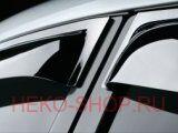 Дефлекторы боковых окон COBRA для AUDI A6 (4F, C6) 2005-2011 COMBI