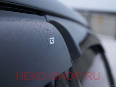 Дефлекторы боковых окон COBRA для HYUNDAI ЕLANTRA 2010-2016 SD