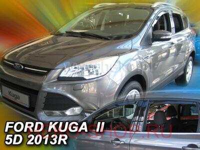 Дефлекторы боковых окон HEKO для FORD KUGA II 2013-\ESCAPE 2012-
