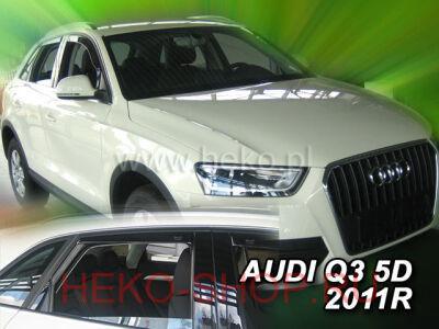 Дефлекторы боковых окон HEKO для AUDI Q3 2011-2018